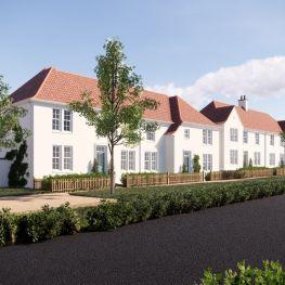 Development of houses in Longniddry.